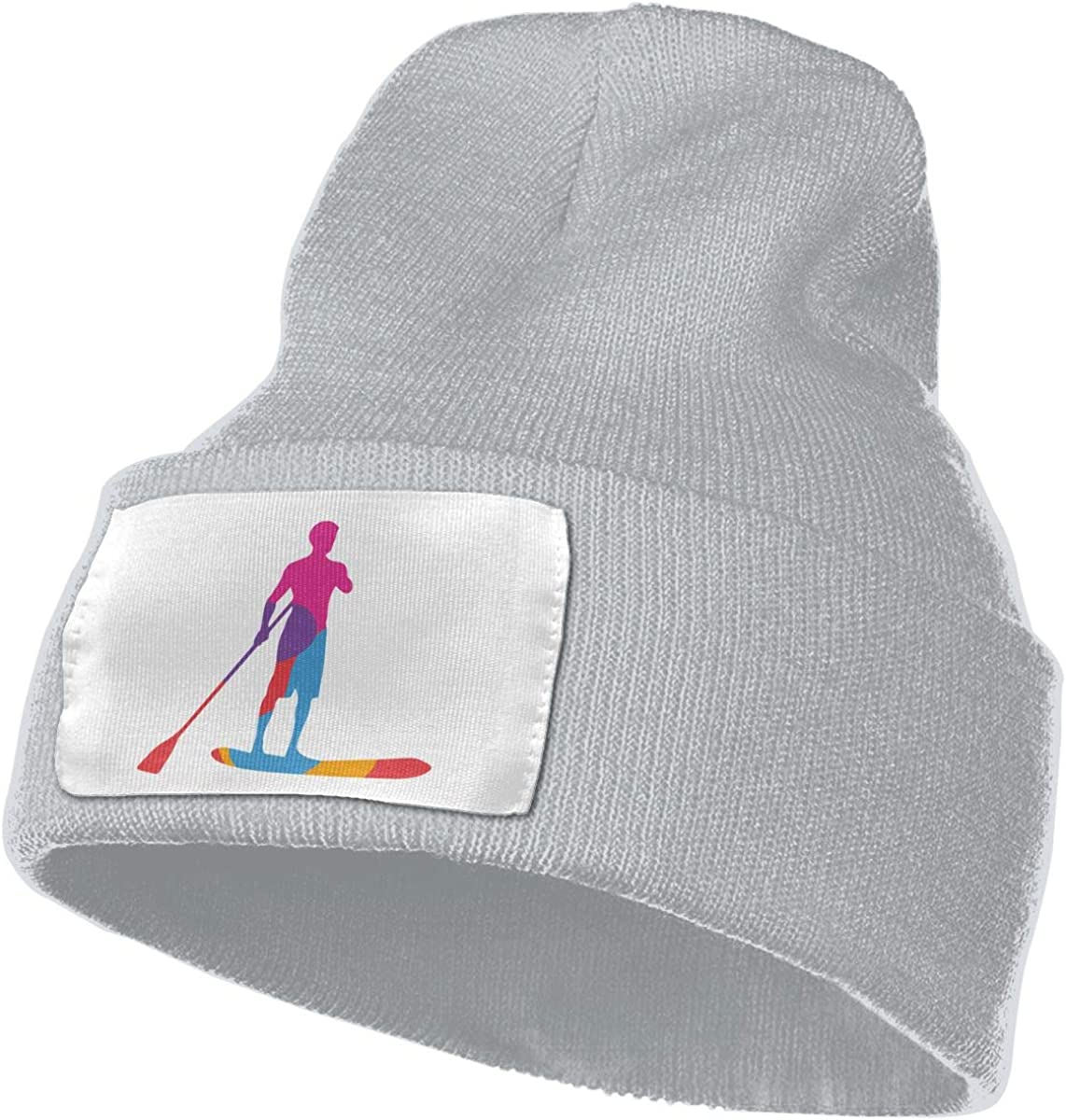 TAOMAP89 Standup Paddleboard Women and Men Skull Caps Winter Warm Stretchy Knit Beanie Hats