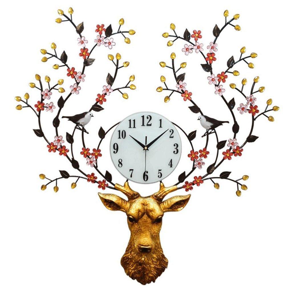 TXXM® リビングルーム時計モダンクリエイティブ時計ホームサイレント時計大気の装飾時計 B07F46798G