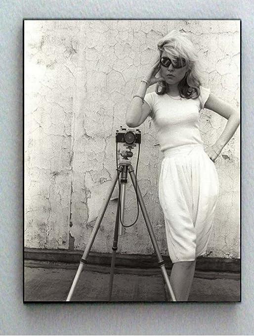 Rock Music  Band Photograph Print Photo Home Decor Vintage Photo Art Print Housewarming Blondie Debbie Harry Poster Wall Art Picture