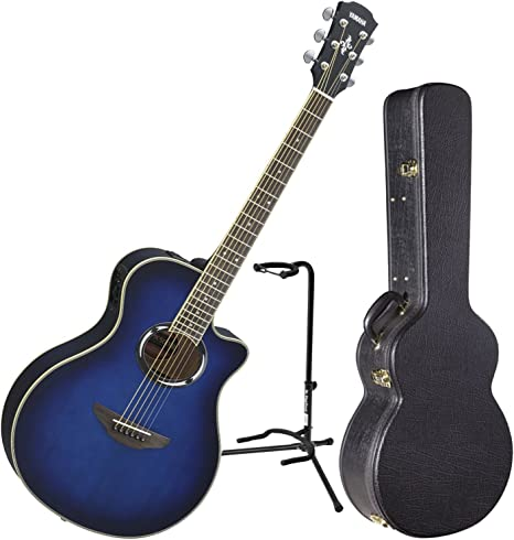 Yamaha apx500iii OBB acústica guitarra eléctrica Oriental azul ...