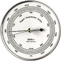 fischer barómetro en Caso de Acero Inoxidable, Acero