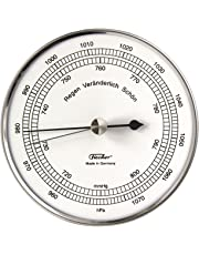 Fischer Barometer in Stainless Steel Case, Multi Colour, One Size