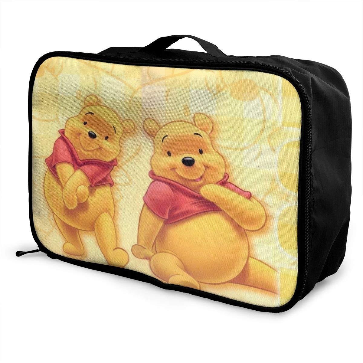 1667d221501c Amazon.com | Winnie The Pooh Packing Cubes Travel Duffel Bag Handle ...