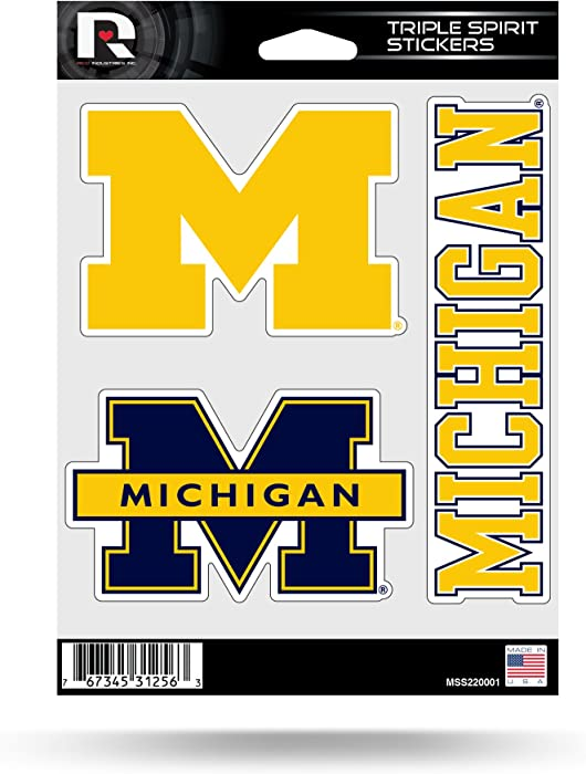 The Best Ncaa Michigan Home Decal 5