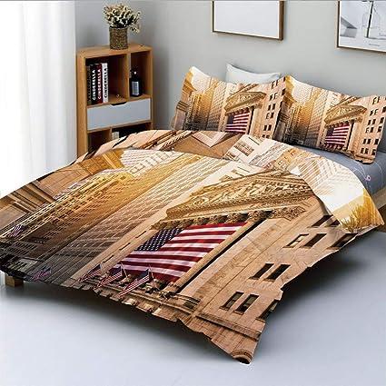 Amazon.com: Duplex Print Duvet Cover Set Full Size,Famous ...