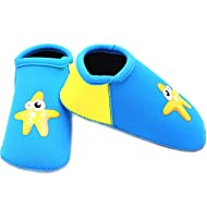 SUIEK Baby Boys Girls Swim Water Shoes Infant Pool Beach Sand Barefoot Aqua Socks