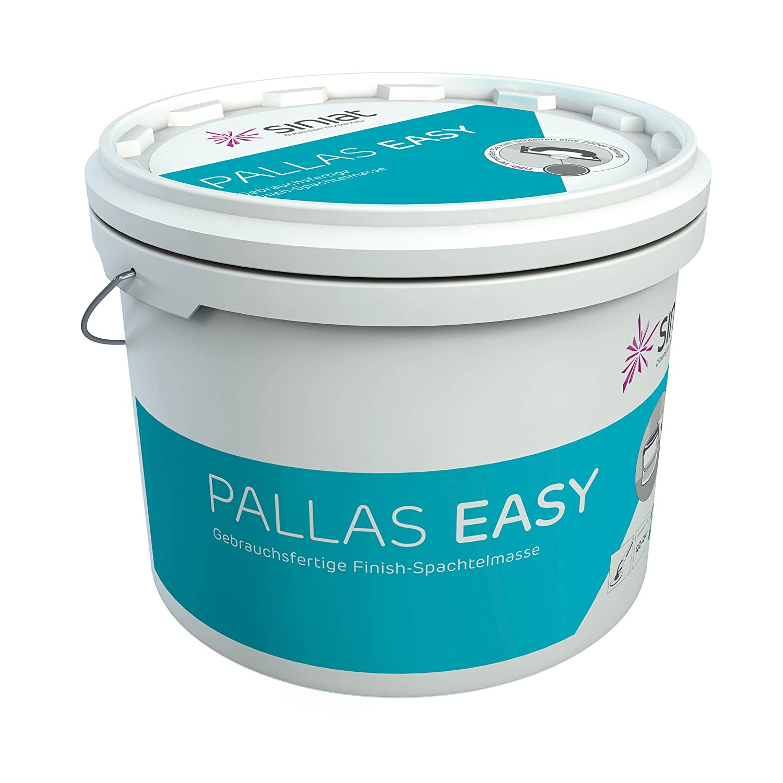 nach DIN EN 13963 Typ 2A 20 kg Eimer sofort einsetzbar Siniat Pallas Easy Finish Fertigspachtelmasse