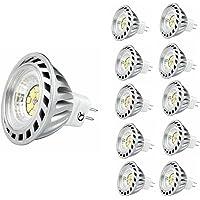 CY LED 6W MR16 G53 LED Bulbs, 50W Halogen Bulbs Equivalent, 500lm, Warm White,3000K,45°Beam Angle,Recessed Lighting…