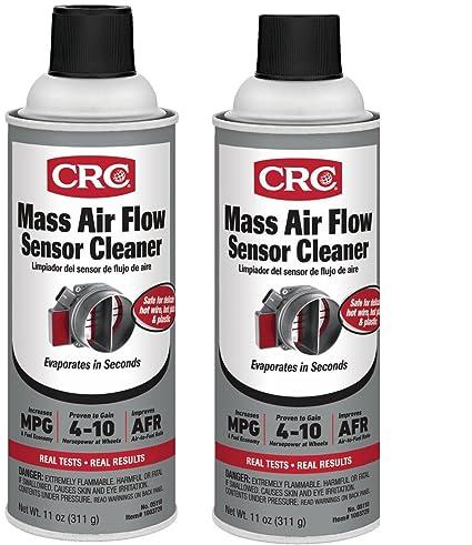 Amazon.com: CRC 05110- Mass Air Flow Sensor Cleaner, 11 fl. oz, (2): Automotive