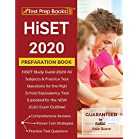 HiSET 2020 Preparation Book: HiSET Study Guide 2020 All Subjects & Practice Test Questions for the High School Equivalency Test [Updated for the NEW 2020 Exam Outline]