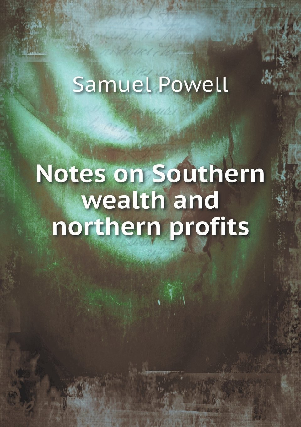 Notes on Southern wealth and northern profits PDF