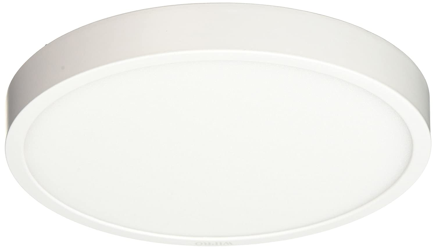 Wipro D641865 Garnet 18-Watt Trimless Panel Light (Cool Day Light, White, Round)
