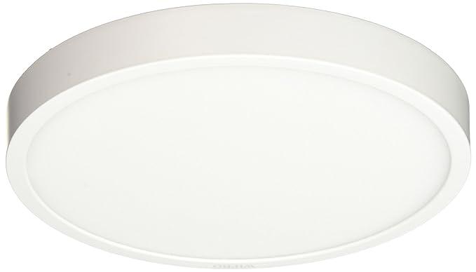 size 40 17a87 3d10d Wipro D641865 Garnet 18-Watt Trimless Panel Light (Cool Day Light, White,  Round)