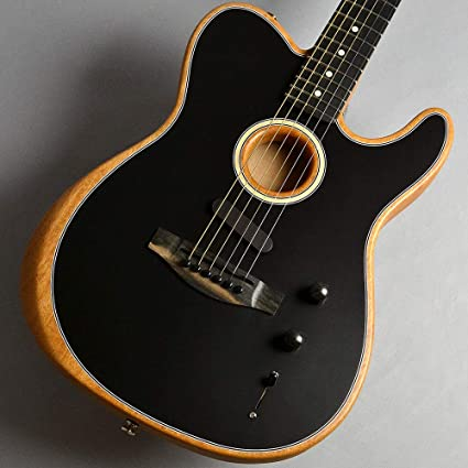 Amazon.com: Fender American Acoustasonic Telecaster ...