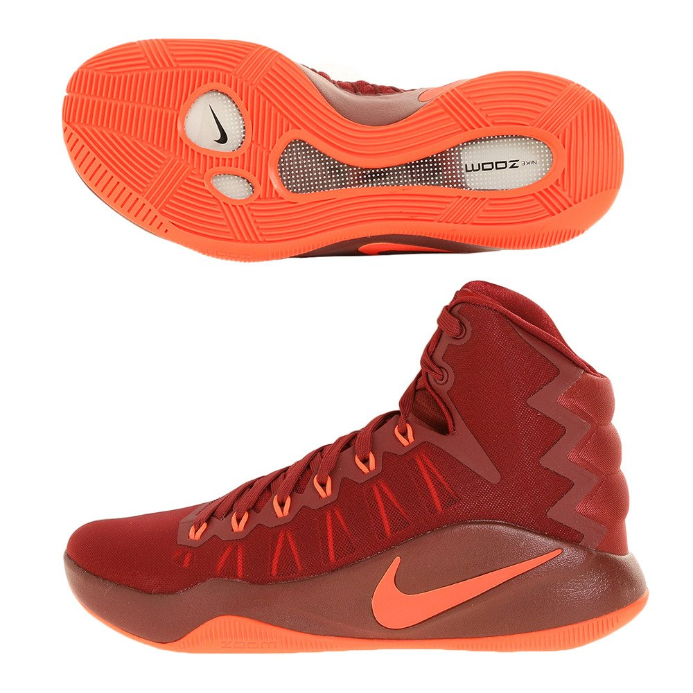brand new 86ef1 0cf6c Amazon.com  Hyperdunk 2016 844359 680 Red Size 10  Clothing