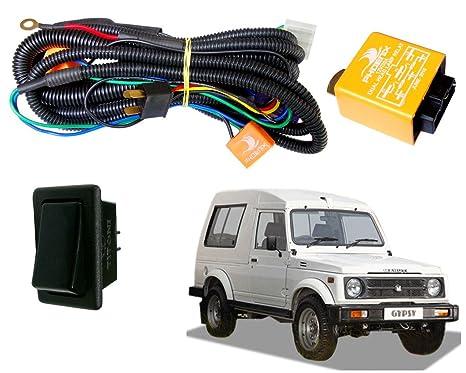 autopearl phoenix headlamp wiring harness kit for maruti suzuki autopearl phoenix headlamp wiring harness kit for maruti suzuki gypsy king
