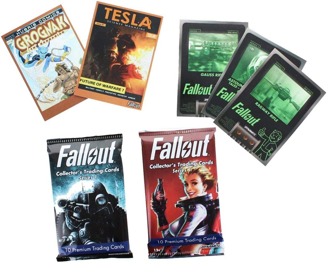 Dynamite Entertainment Fallout Trading Cards Series 1 - Complete ...