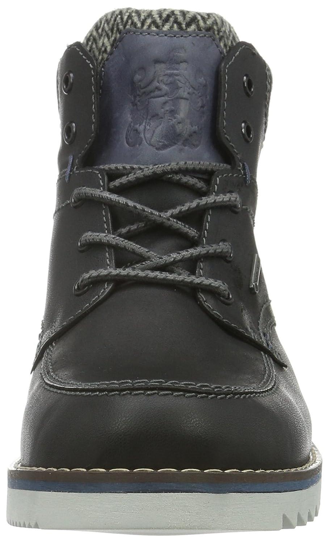 FRETZ men Herren Schwarz Cooper Chukka Boots Schwarz Herren (51 Noir) 557a55