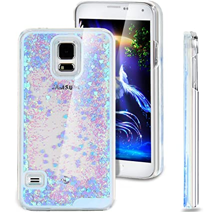 buy online d6753 9062d Galaxy S5 Case, ikasus Galaxy S5 Bling Case, Glitter Case for Galaxy ...