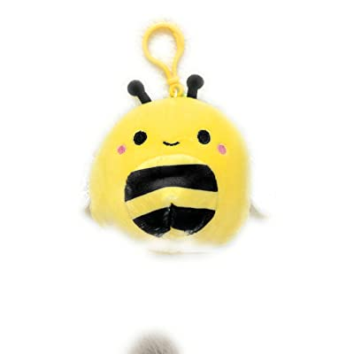 Squishmallows 3.5 Sunny The Bee Clip On: Toys & Games