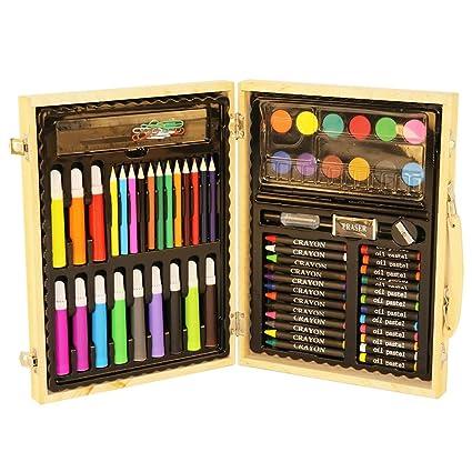 Set de Lapices de Color Conjunto de arte de 91 piezas de ...