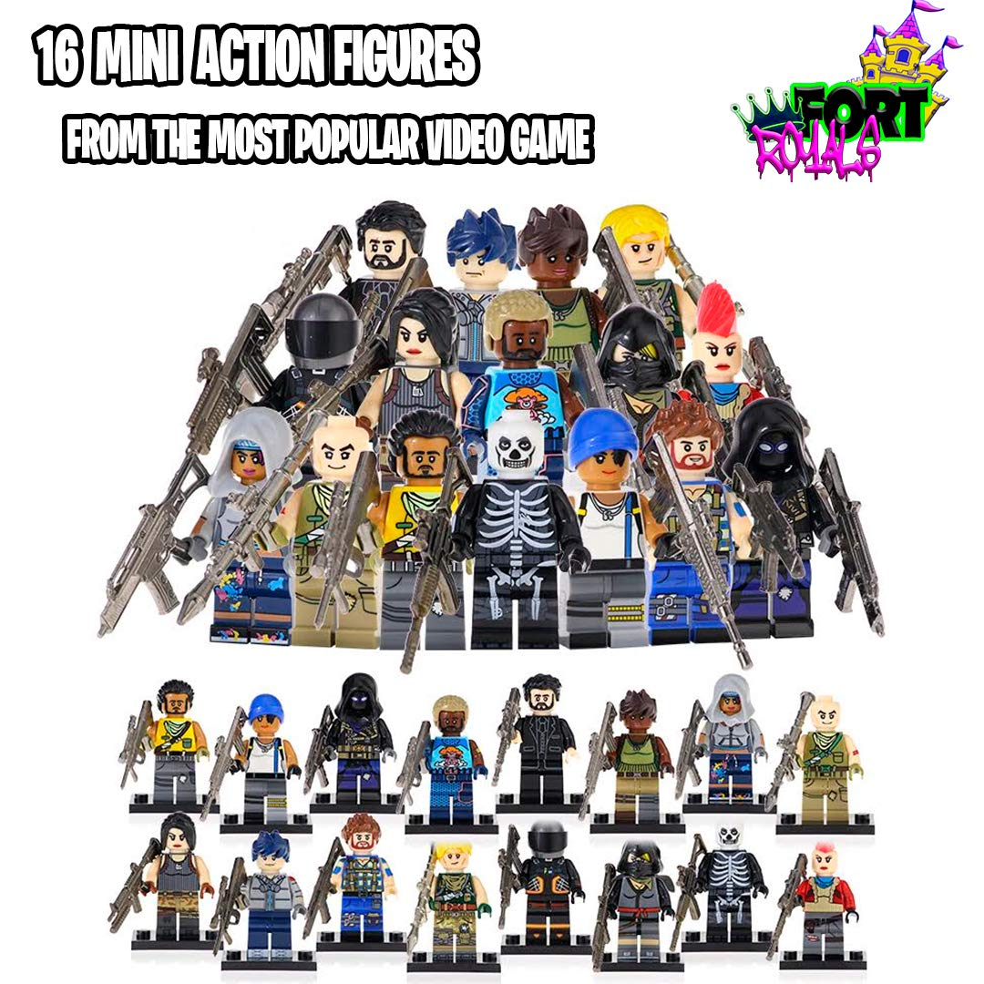 New Battle Royal Toy Figures Set - Heroes from Fort Battle Royal - Gift for Boys and Girls