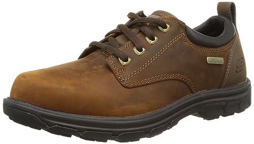 Skechers Segment Bertan, Zapatos de Cordones Hombre, Marrón (Chocolate), 43 EU: Skechers: Amazon.es: Zapatos y complementos