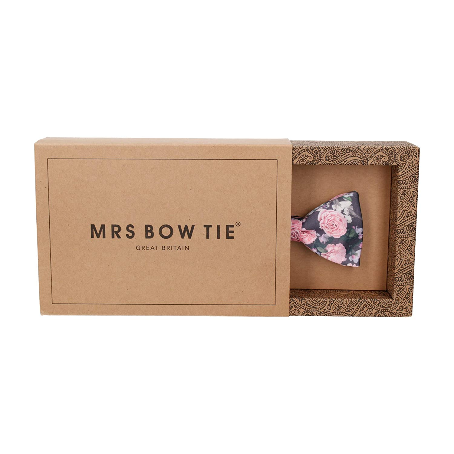 Self Tying Bow Ties Mrs Bow Tie Rosemoor Pre Tied