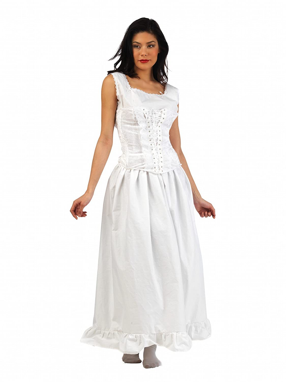 Limit Sport Mascarada MA291 M - - - Scarlett Unterwäsche Kostüm, Größe M, weiß 921a06