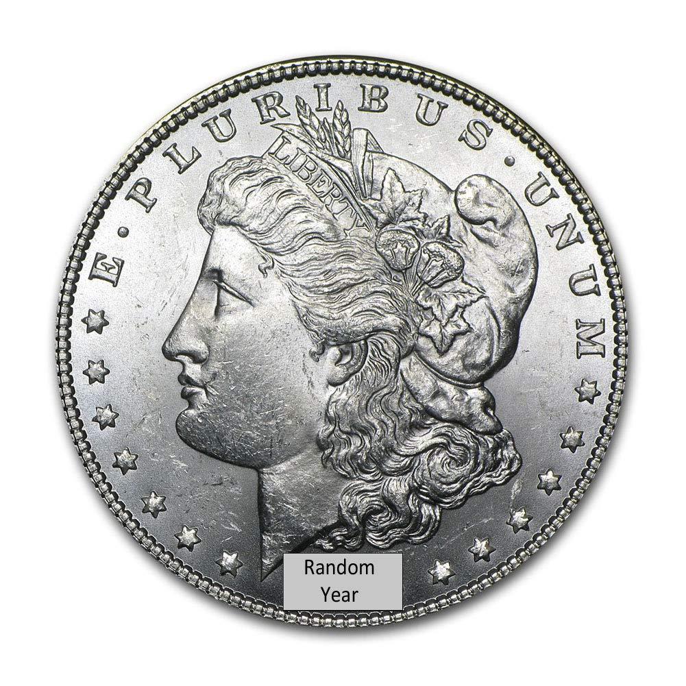 Random Year $1 Brilliant Uncirculated 1878-1904 Morgan Silver Dollar