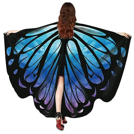 Mantón Flamenco, Elegante Patchwork Pulsera Steampunk Alas de Mariposa Personalizadas Shawl Top Bufandas BBestseller: Amazon.es: Ropa y accesorios