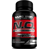 Nitric Oxide Booster - Nitric Oxide Supplement with L Arginine & L Citrulline for Muscle Building, Vascularity, Pumps, Energy, Heart Health - NO Booster Pre Workout - 60 Capsules
