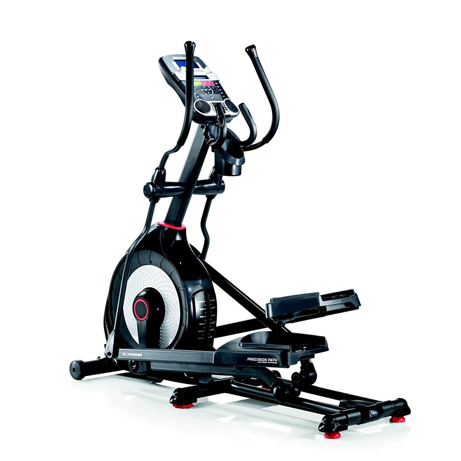 70f8789a0cf4 As you may already know, Schwinn is a strong company and the Schwinn 470 Elliptical  Machine makes a perfect showing in its price range. This trainer is a ...