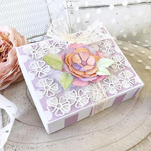 Gift Box Metal Cutting Dies Stencils DIY Scrapbooking Album Embossing Card Craft