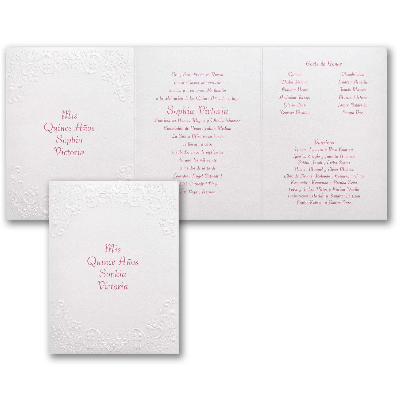 Amazon.com: 550pk Shimmering Pearls - Invitation-Quinceaà ...