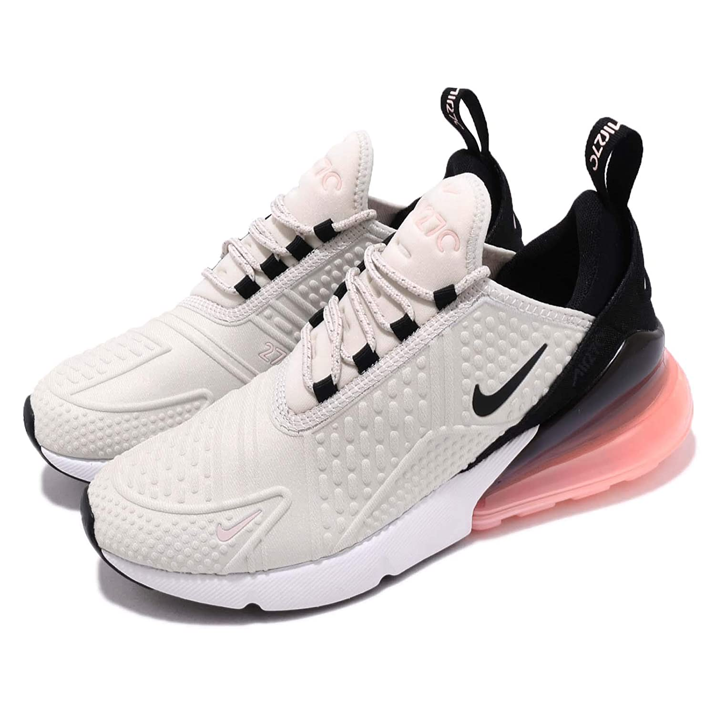 e7552726e6 Nike Women's WMNS Air Max 270 SE, Light Bone/Black-Storm Pink, 12 US:  Amazon.com.au: Fashion