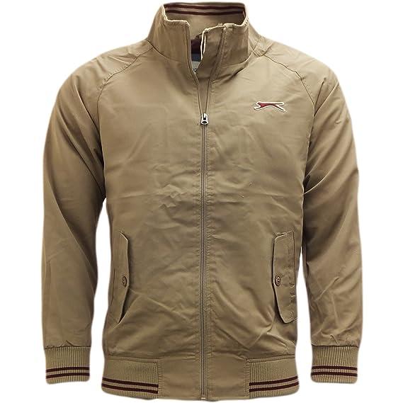 Para chaquetas de hombre Slazenger Harrington perchero de pared de chaqueta ligera de ropa: Amazon.es: Ropa y accesorios