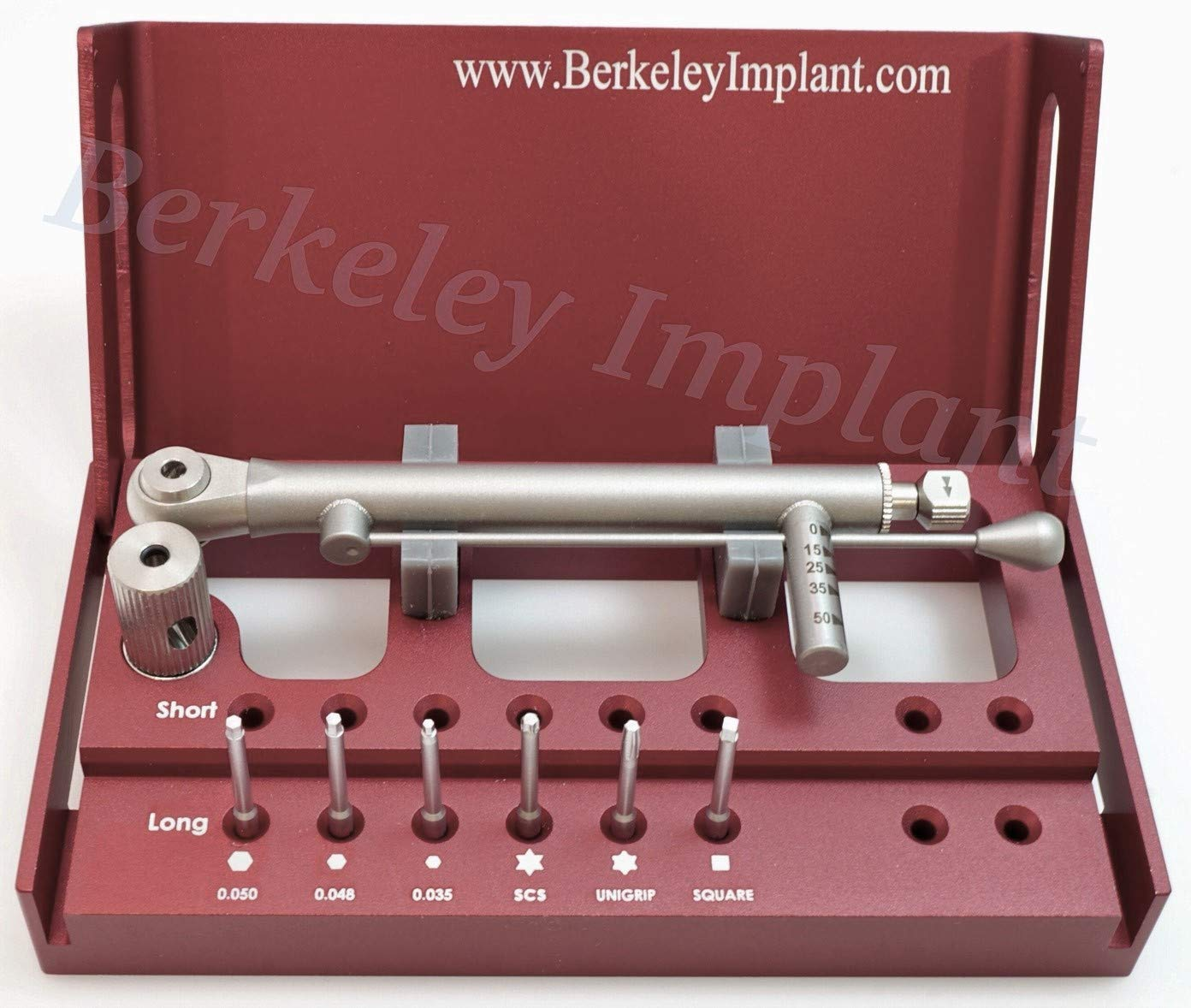 Dental Implant Latch-Type Multi-Driver Set (Long Drivers) for Dental Practices by Berkeley Implant (Image #1)
