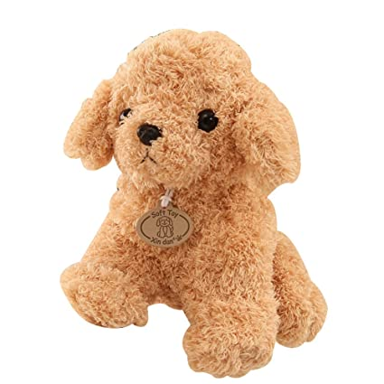 6141681f51b Amazon.com  Shuohu Cute Lovely Puppy Teddy Bear Poodle Stuffed ...