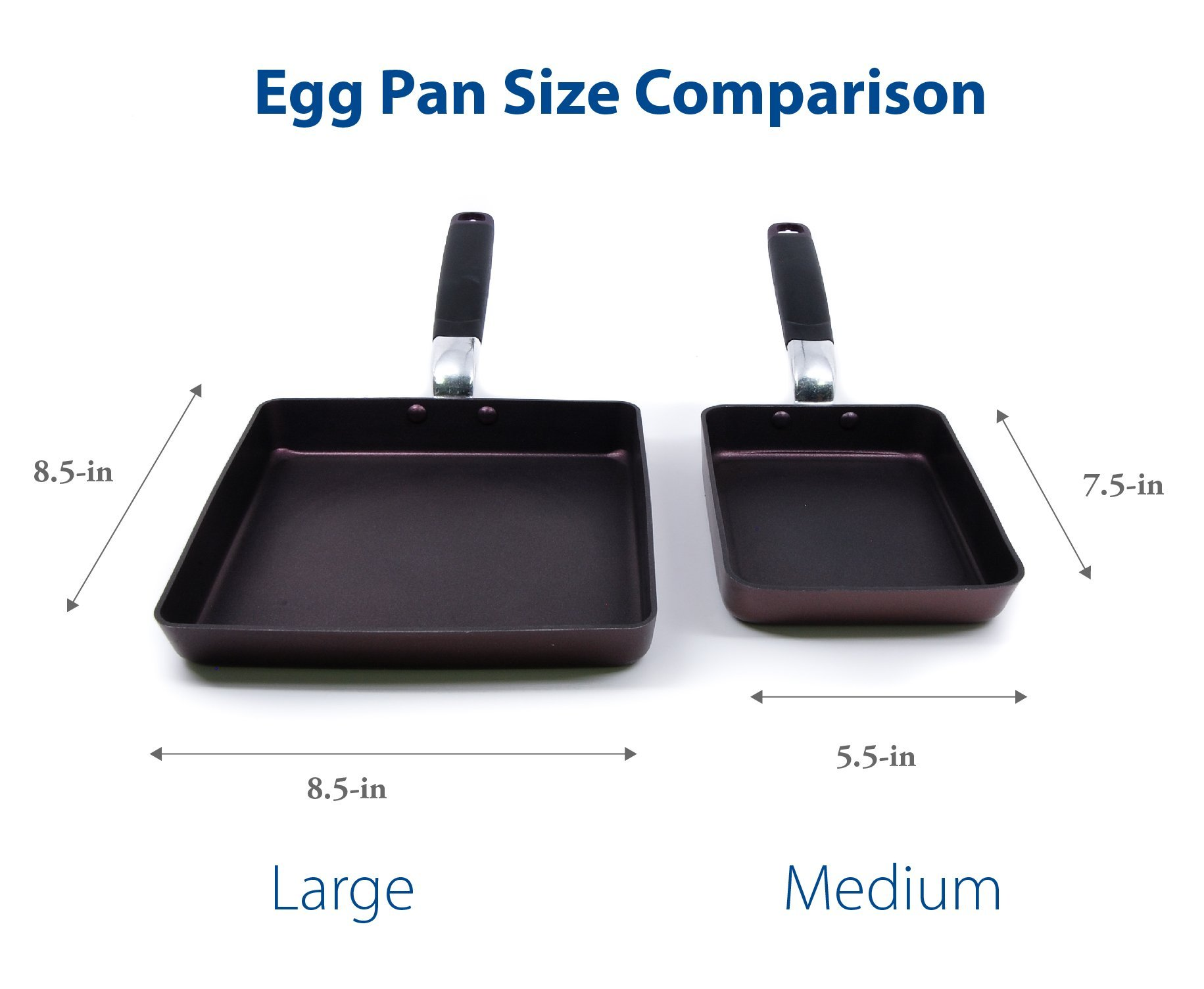 TeChef - Tamagoyaki Japanese Omelette Pan/Egg Pan, Coated with Dupont Teflon Select - Colour Collection/Non-stick Coating (PFOA Free) by TECHEF (Image #4)