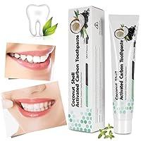 Dentifricio al carbone attivo, sbiancamento naturale dei denti, pulizia dei denti e dei denti, dentifricio sbiancante, iSuri Minty Black Fluoruro di dentifricio senza