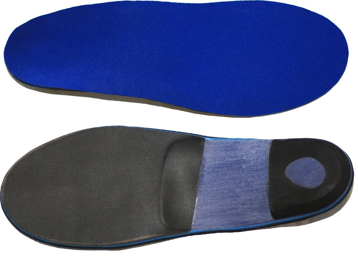 Custom Orthotics - Full Length Featuring Purple Spenco Top Covers