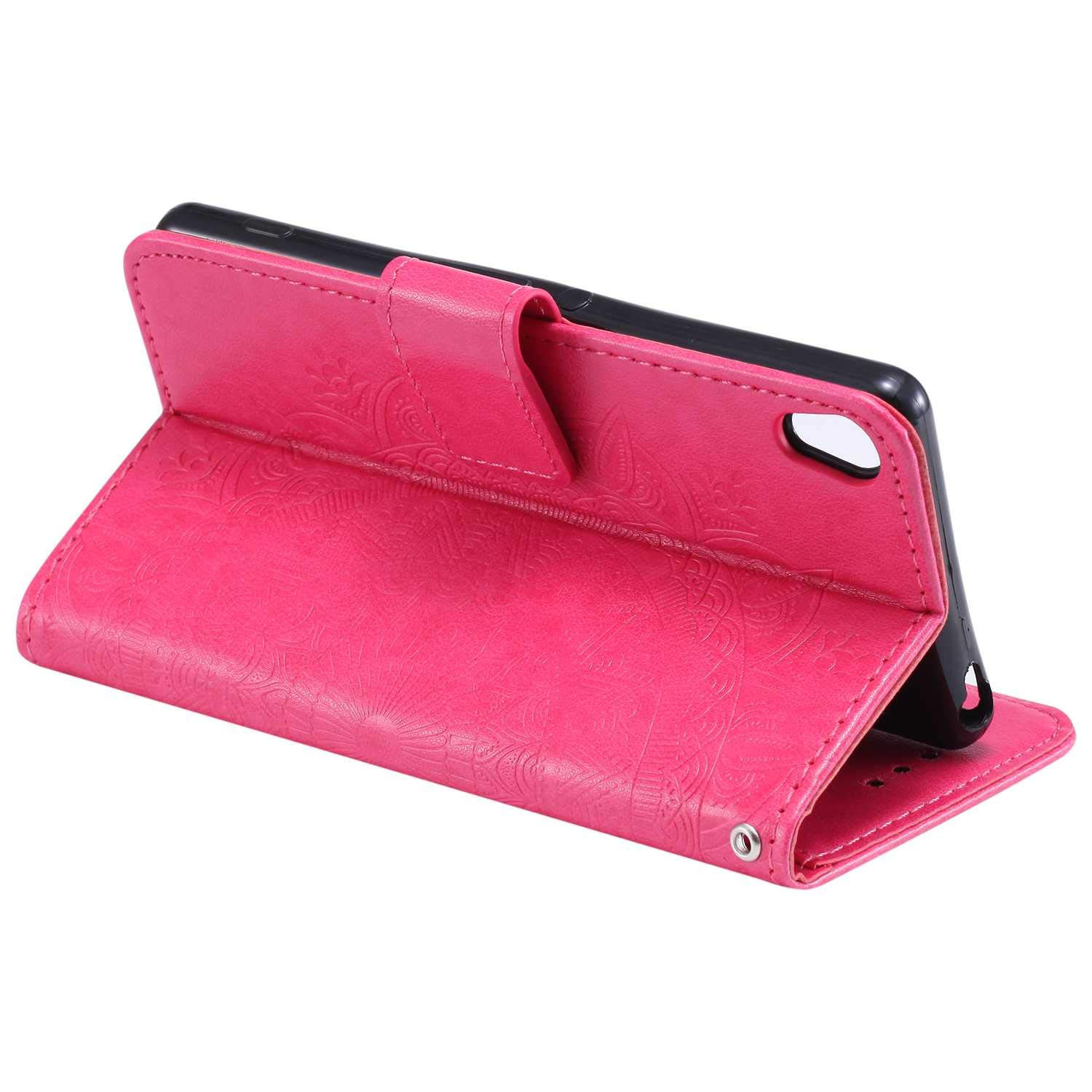 Premium Wallet Case with Sony Xperia XA Case Kickstand Function Card Slots The Grafu Leather Case Flip Notebook Cover for Sony Xperia XA Green