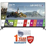 LG 55-inch Super UHD 4K HDR Smart LED TV 2017 Model (55UJ7700) with CPS 1 Year Extended Warranty