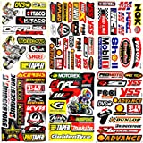 Motorcycles Motocross Dirt Bikes Jet ski Lot 6 vinyl decals stickers D6036