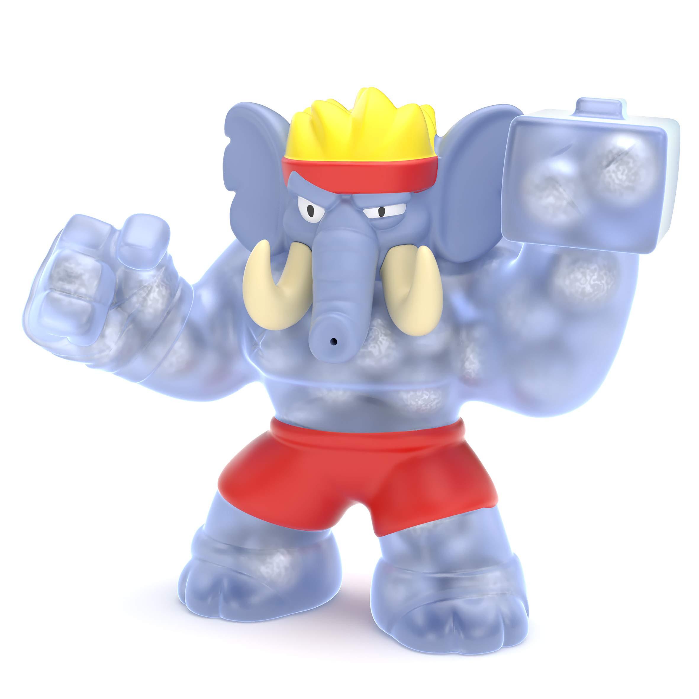 Heroes of Goo Jit Zu 41044 Hero Pack S2 GIGATUSK The Elephant, Multicolor