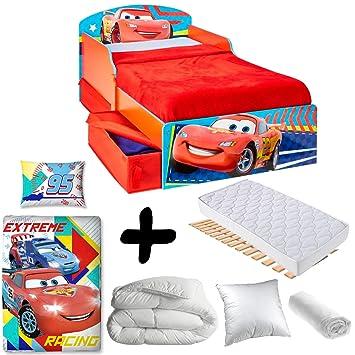 Amazon.de: Bebegavroche Komplettset Premium Bett Flash McQueen ...