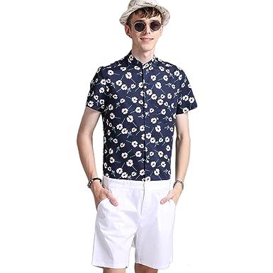 72d9657483fc TEN NIGHT Men Jumpsuit Short Romper Fashion Jumpsuit Pocket Men Short Sleeve  Textile (S