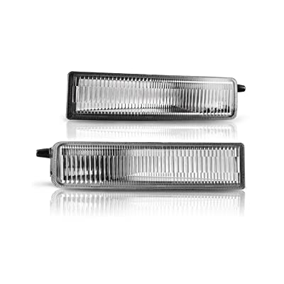 Fog Lights Assembly For 2003-2007 Scion XB With Clear Lens 2PCS OEM Fog Lamps With 9006 12V 51W Bulbs AUTOWIKI: Automotive
