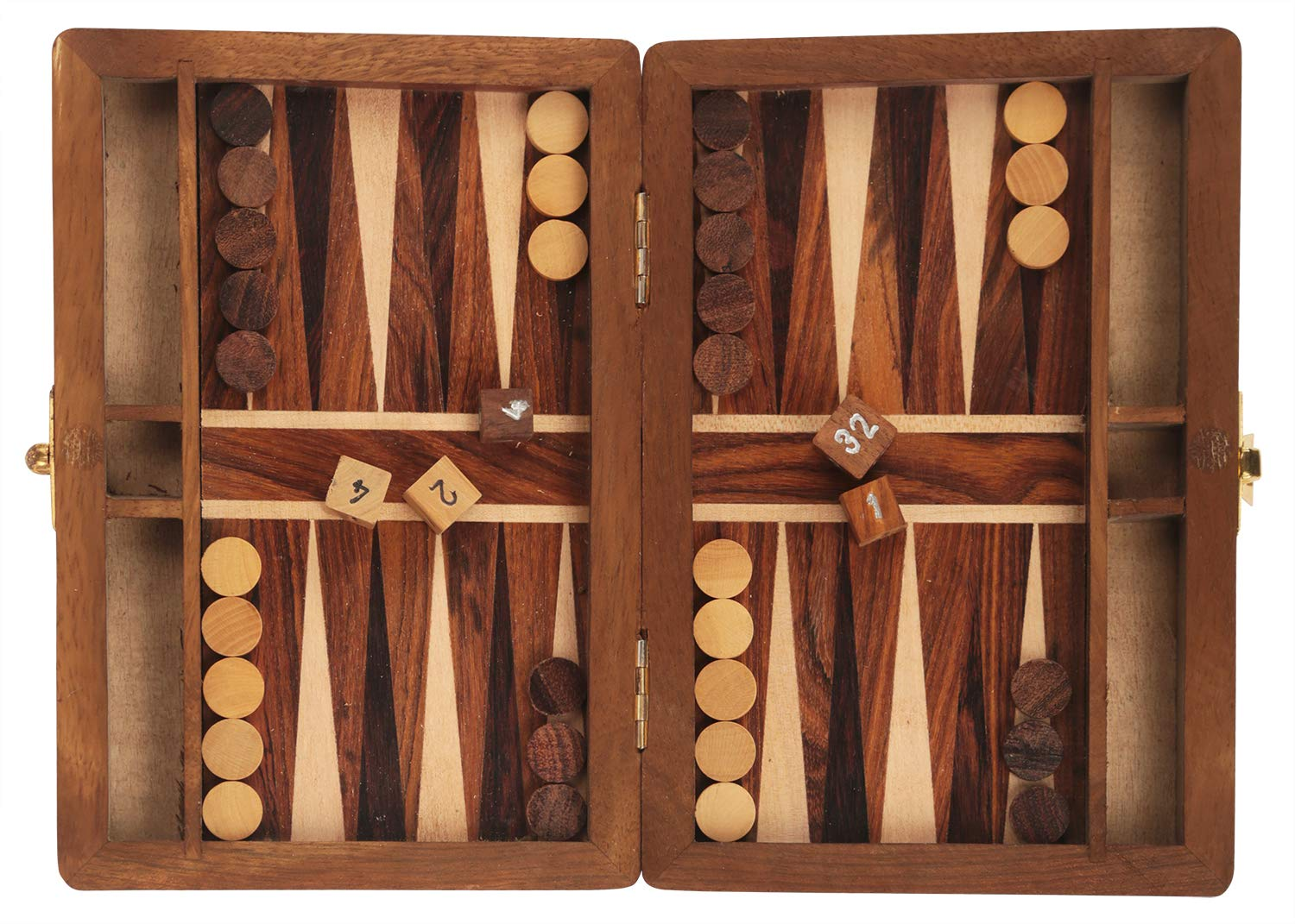 Backgammon https://amzn.to/2Pn9enP